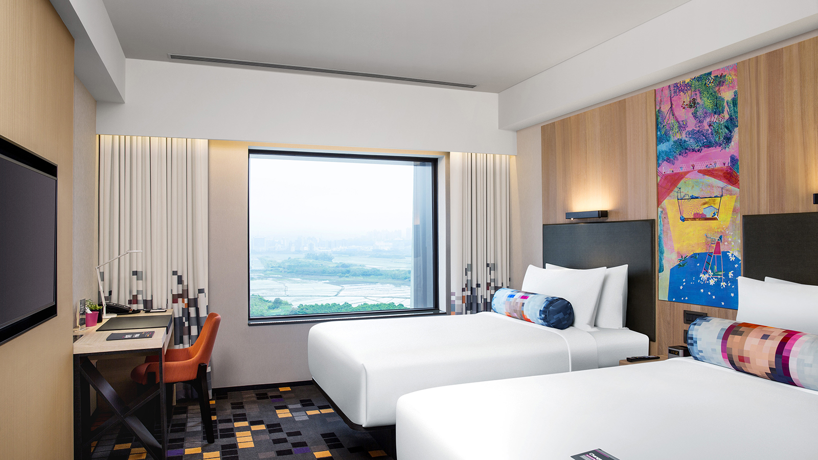 Savvy Room - Guandu Nature Park - Twin